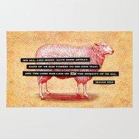 Like Sheep Rug