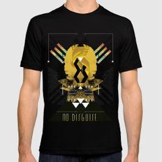 ::No Disguise:: SMALL Black Mens Fitted Tee