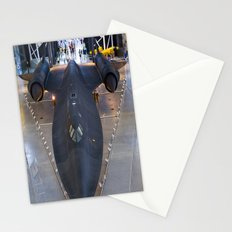 Sr71-Blackbird at the Dulles Air & Space Museum Stationery Cards