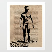 As I Moved Deeper Into the Forest Art Print