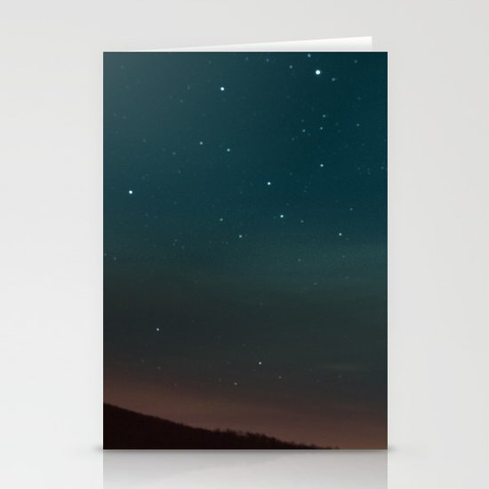 Kissing Under the Stars Stationery Card