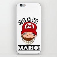Psycho Mario iPhone & iPod Skin