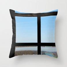 Clear Throw Pillow