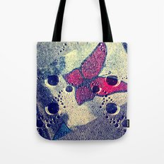 Sad Butterfly Tote Bag