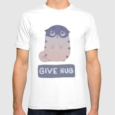 Boggart Hug SMALL White Mens Fitted Tee