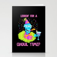Lookin' For A Ghoul Time… Stationery Cards