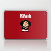 coupling up Mafialda Laptop & iPad Skin