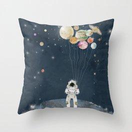 Throw Pillow - solar collector  - bri.buckley