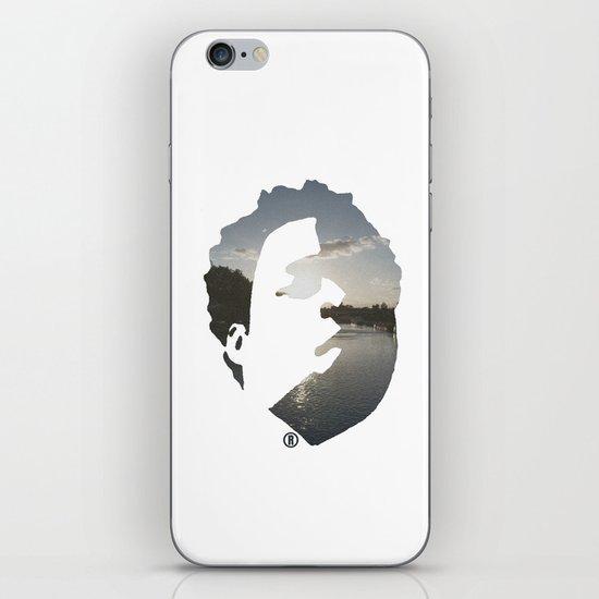 Face & The Ocean iPhone & iPod Skin