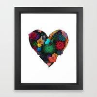 Gobblynne Heart Framed Art Print