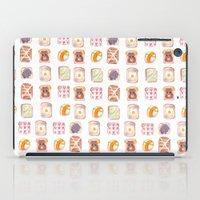 Toast Pattern iPad Case