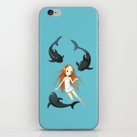 Underwater 2 iPhone & iPod Skin
