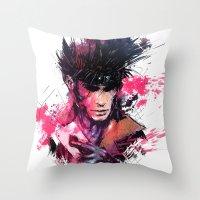 Gambit Throw Pillow