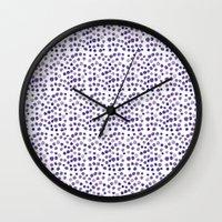 BLUE DOTS Wall Clock