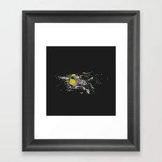turn to greed Framed Art Print