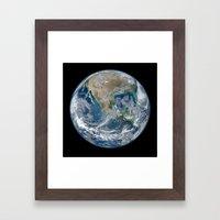 The Blue Marble Framed Art Print