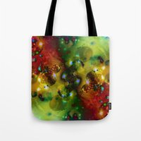 Cosmic Timewarp Tote Bag