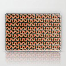 Desert Triangles - Geometric Orange and Blue Pattern Laptop & iPad Skin