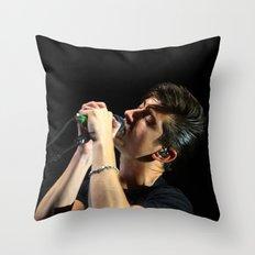 Alex Turner // Arctic Monkeys Throw Pillow