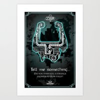 Midna's Helmet, The Lege… Art Print