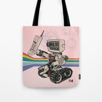 1980s Corporate Robot Tote Bag