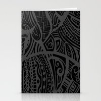Abstractish 4 Stationery Cards