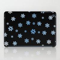 Snowflakes (Blue & White… iPad Case