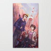 Travel Bug: Tokyo Canvas Print