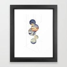 Mobile Sky Framed Art Print
