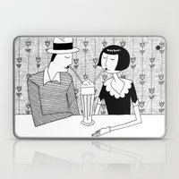 They Shared A Chocolate … Laptop & iPad Skin