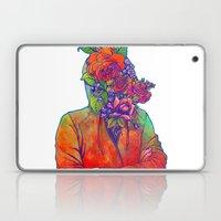 FLOWERS HEAD Laptop & iPad Skin