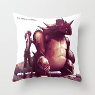 The Waste Is Watching...… Throw Pillow