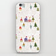 Christmas Is Coming! iPhone & iPod Skin