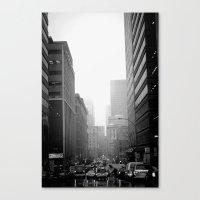 City City Canvas Print