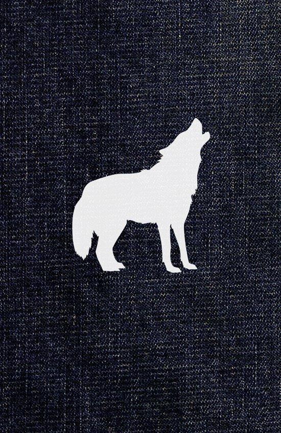 Jeans dog Art Print