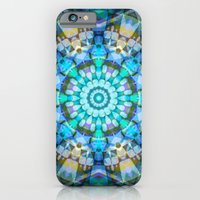 Into the Blue Kaleidoscope iPhone 6 Slim Case