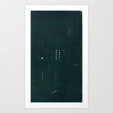 Green Light: A Water's R… Art Print