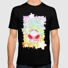 Kirby is shaped like a friend (shirt) Mens Fitted Tee Black SMALL