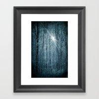 Unknown Star Framed Art Print