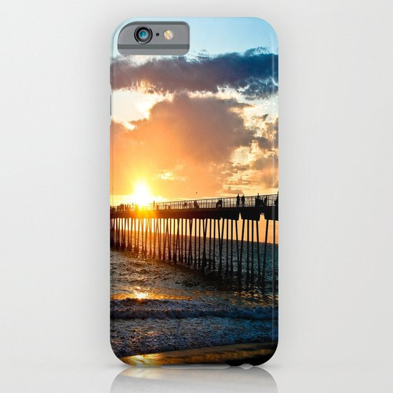 Hermosa Pier (2) iPhone & iPod Case