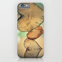 iPhone & iPod Case featuring Vintage Translucent Hearts Pattern by Corbin Henry