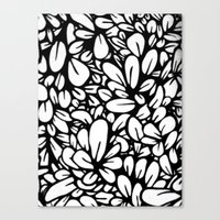 Crazy Flowers Canvas Print