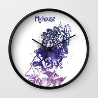 My House Wall Clock