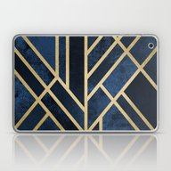 Art Deco Midnight Laptop & iPad Skin