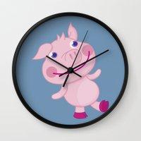 Pigg'o Wall Clock