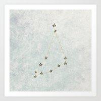 Capricorn X Astrology X … Art Print