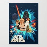 Star Wars FanArt: Rats W… Canvas Print