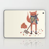 Ferdinand The Fall Fox Laptop & iPad Skin