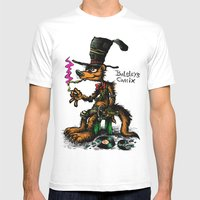 Taboose poster Mens Fitted Tee White SMALL