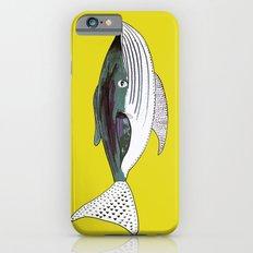 Whale, whale art, whale illustration, art, illustration, design, animal, whales, print, iPhone 6 Slim Case